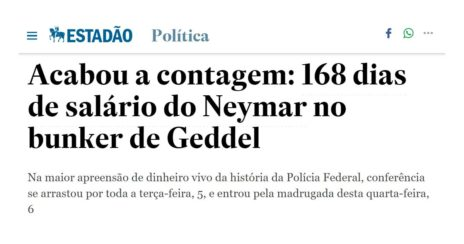 Como o valor do salário do Neymar pode nos ajudar a entender melhor os noticiários políticos e econômicos